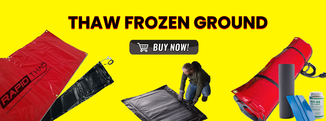 Thaw Ground Methods Equipment For Thawing Frozen Ground